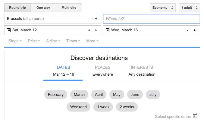 Hoe boek ik een mileage run - Google Flights