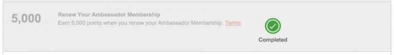 IHG Accelerate - Renew Ambassador Membership