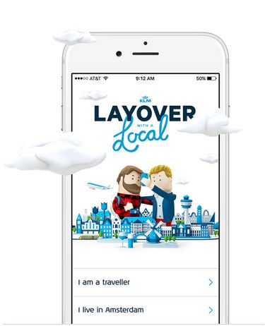 KLM Layover With A Local App