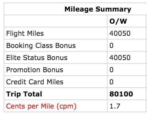 mileage run