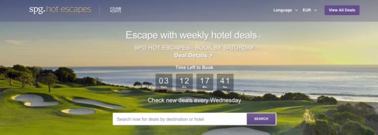 SPG Hot Escapes Week 8 - Banner