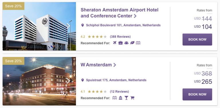 SPH Hot Escapes Week 7 - Netherlands Hotels