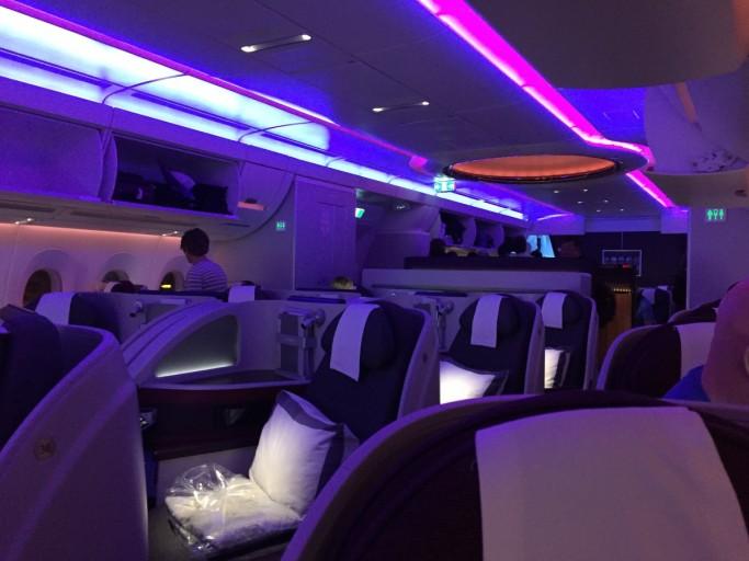 Business class Qatar Airways A350
