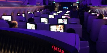 Qatar Airways A350 business class