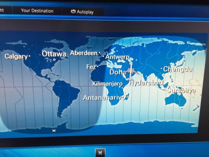 Aberdeen en Antwerpen... out of all places...