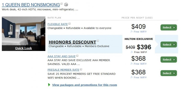 HHonors Spring Pre-sale