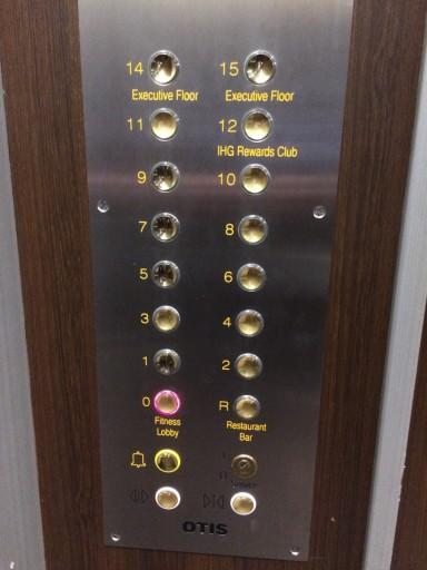 Holiday Inn Amsterdam - Elevator