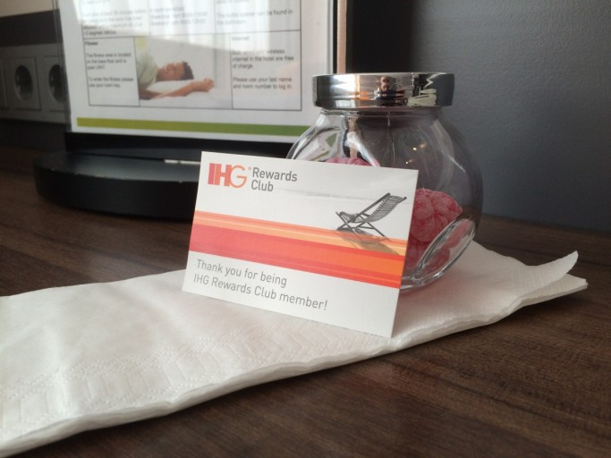 Holiday Inn Amsterdam - Elite Member Welcome Gift Candy