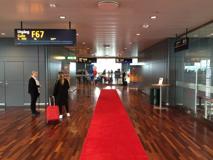 SAS route opening