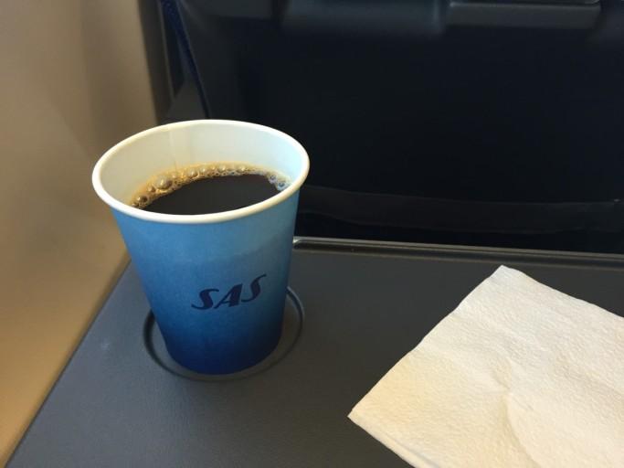Koffie en thee zijn gratis...