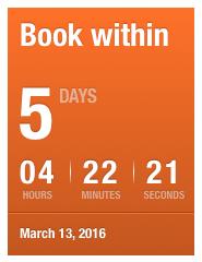 Qatar Airways Sales Maart 2016 - Book within days