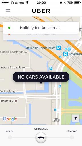 Uber Nederland - App Book Ride