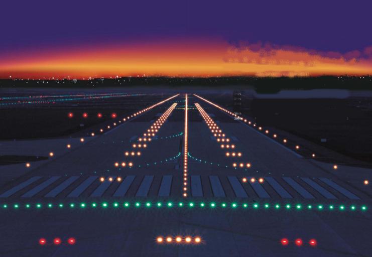 Werkzaamheden Brussels Airport - Runway Lights