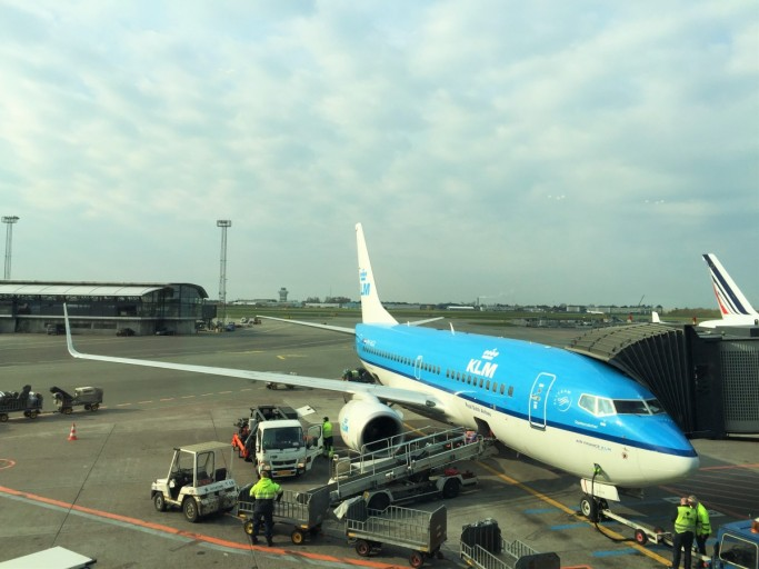 KLM Europe Business Class