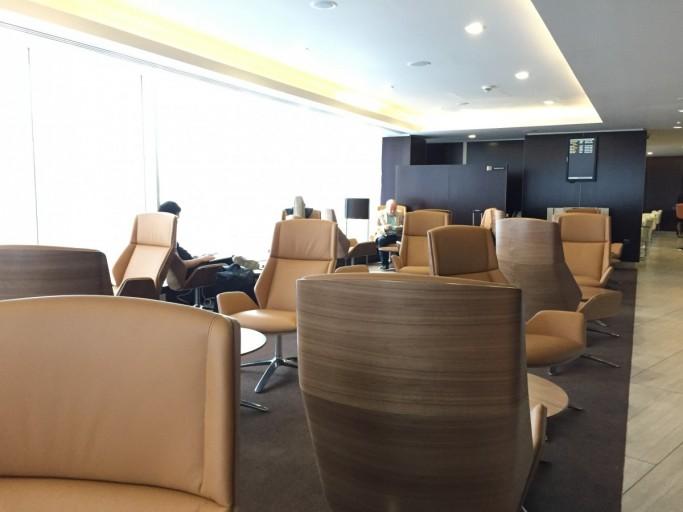 Etihad Lounge in LHR