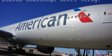 american airlines status challenge