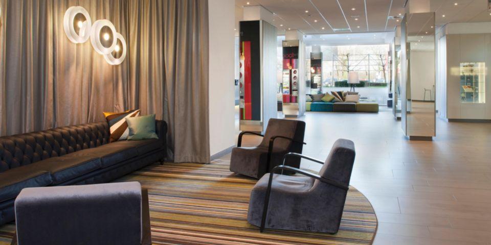 Lobby van Crowne Plaza Antwerpen