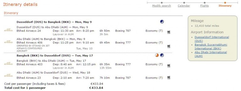 itinerary dus auh bkk ey