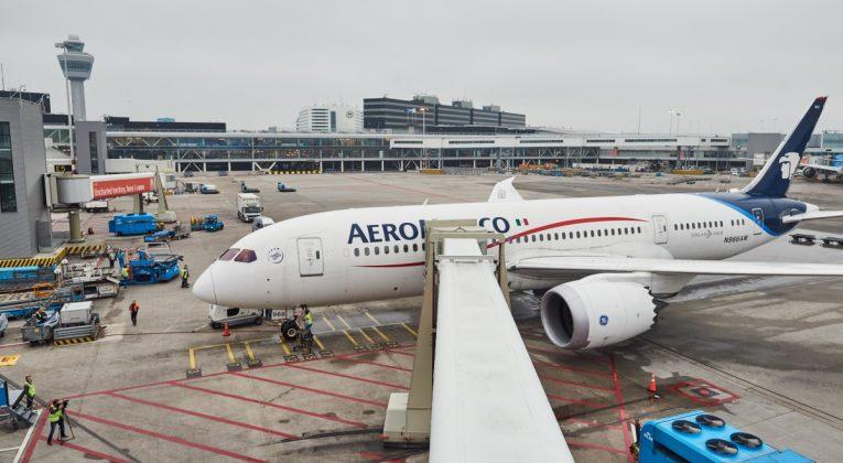 Aeromexico 787 amsterdam
