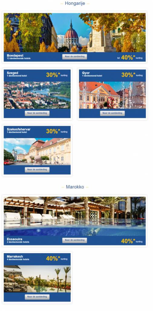Accor Exclusieve Sale Hongarije en Marokko