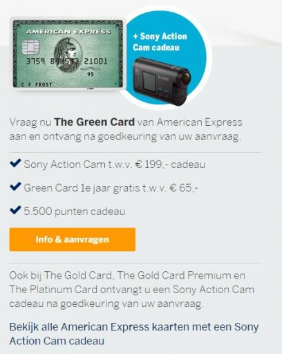 American Express Zomercampagne 2
