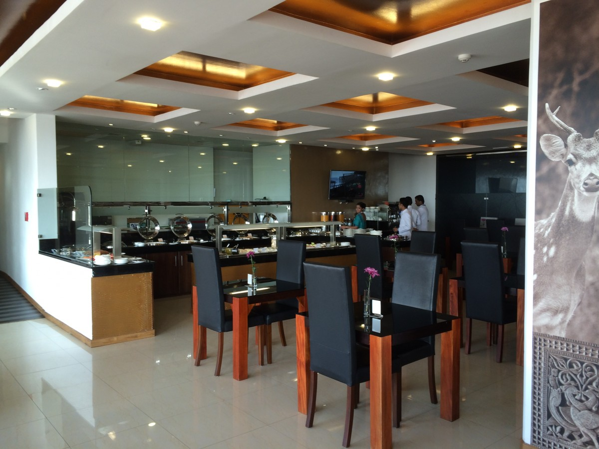 SriLankan Airlines Serendib Lounge Colombo