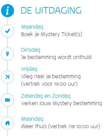 KLM Mystery Ticket Uitdaging