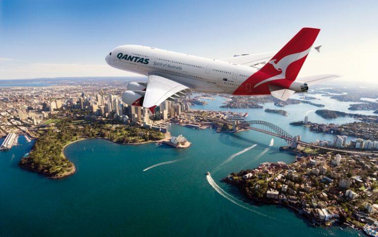 De Airbus A380 van Qantas (Bron: Qantas)