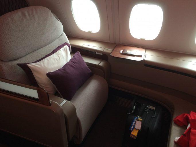 Qatar Airways First Class