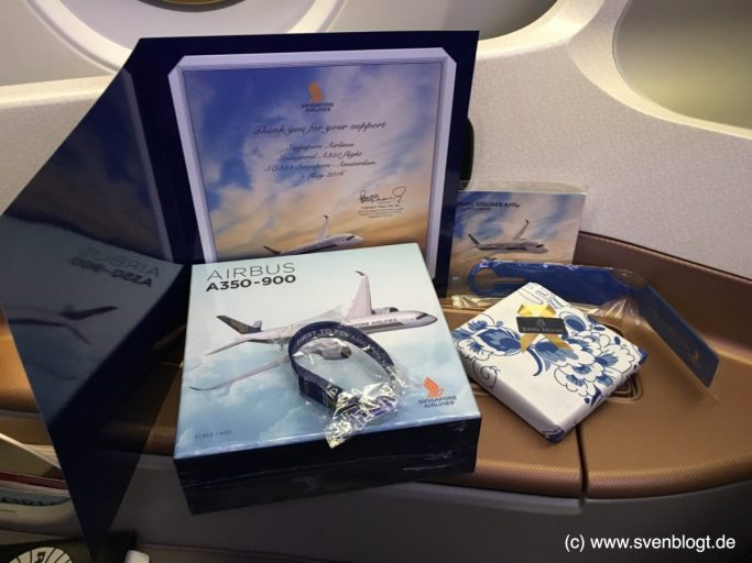 Singapore Airlines A350 Business Class Review