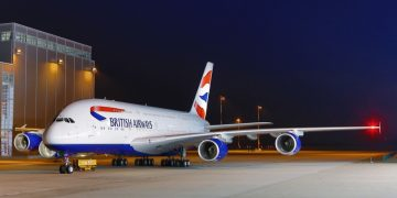 British Airways A380 Wi-Fi