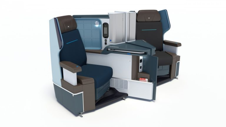 KLM Dreamliner B787 Business Class