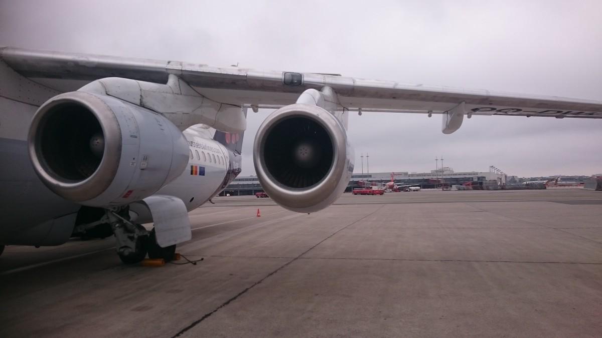 Review Klm Fokker 70 En Brussels Rj100 Economy