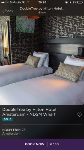Hilton - Hotel Tonight