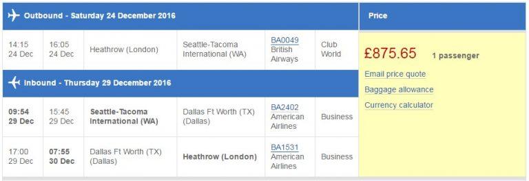 Part Pay Avios