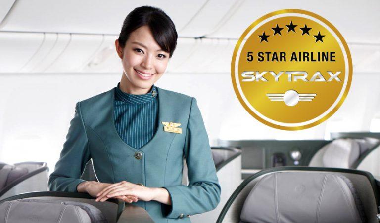 EVA Air 5 sterren
