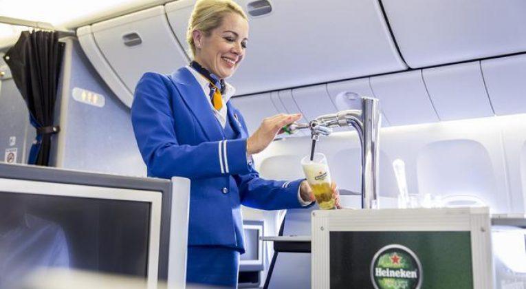 KLM Heineken biertap