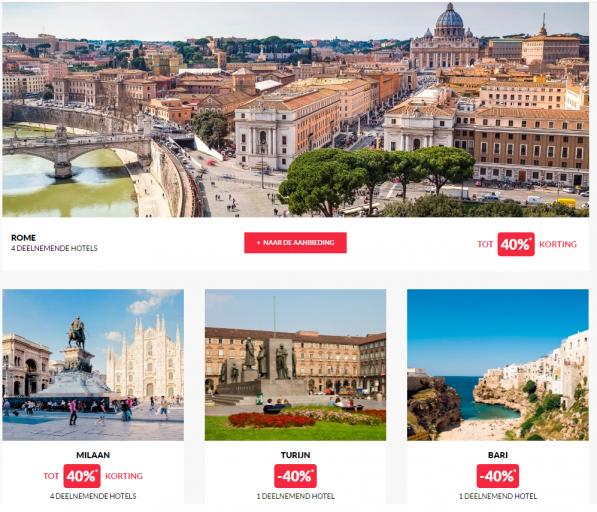 Accor Exclusieve Sale Italie