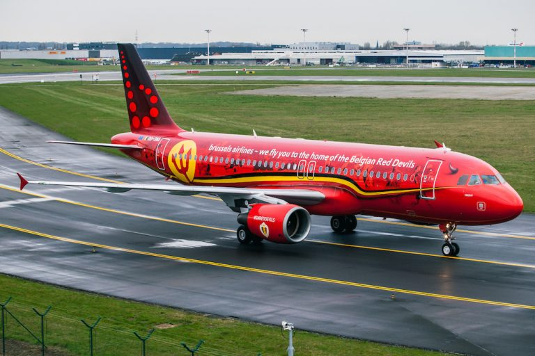 Brussels Airlines Trident