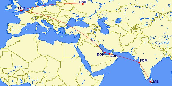 Een langere route zorgt voor veel MPM ruimte....