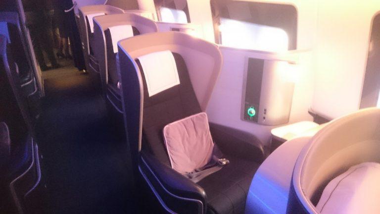 BA First Class. Ik had het niet willen missen op mijn award ticket naar Abu Dhabi!