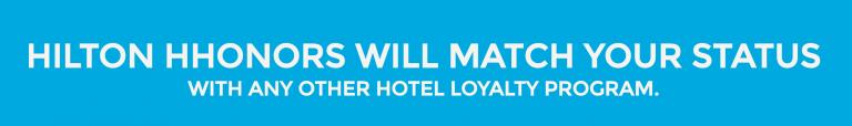 Hilton Status Challenge - Banner