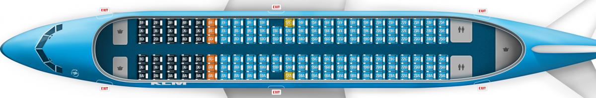 KLM B737-700