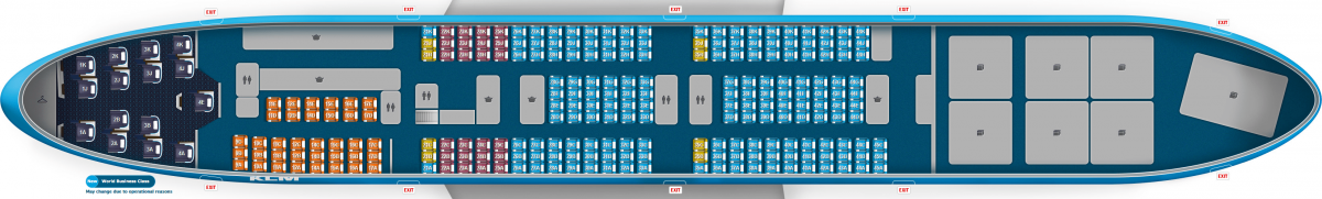 KLM B747-400 Combi