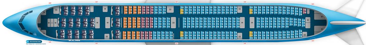 KLM B777-300ER V2