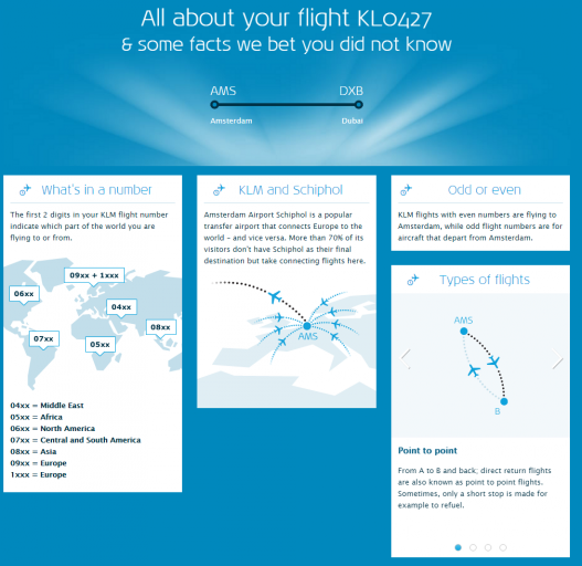KLM Flight Guide - Weetjes