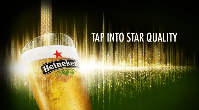 Heineken tap bier