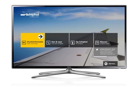 Schiphol Smart TV