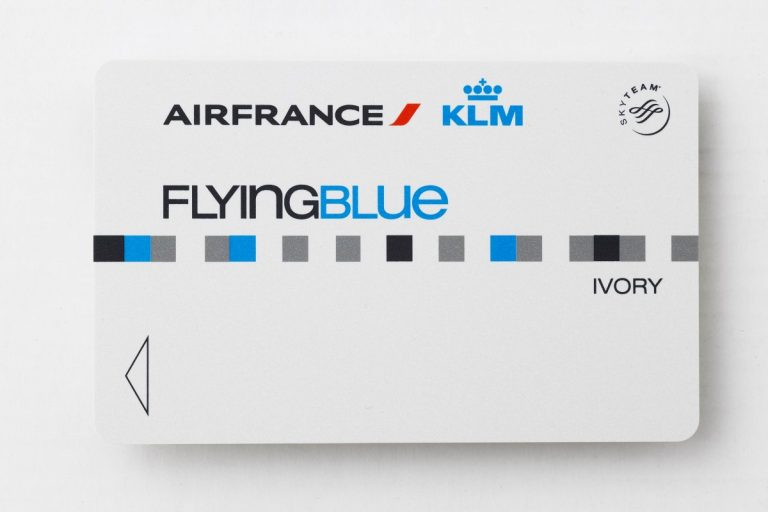 Flying Blue Ivory