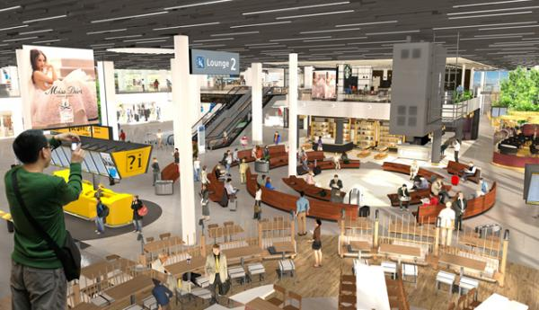 Schiphol lounge 2